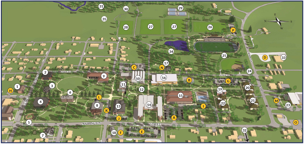 Fayette Campus Map