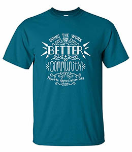 Doing the Work Better Community Fayette Appreciation Day 2019 Tshirt