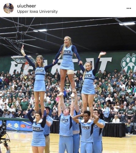 UIU Cheer Instagram Profile